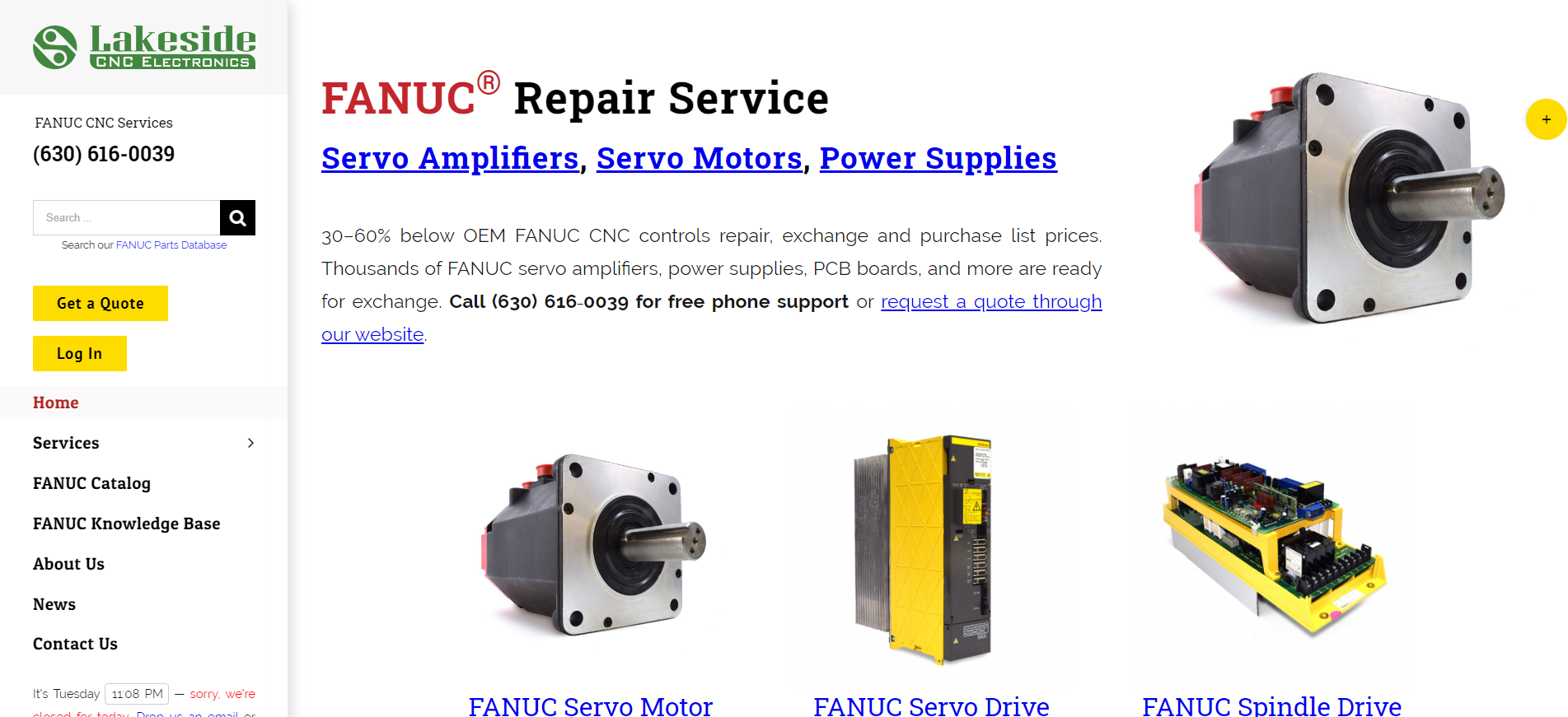 Lakeside CNC Group, Inc. New Website Version