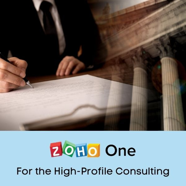 Zoho One Implementation for the Business Consultant